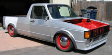 VW Caddy is really low and found on google