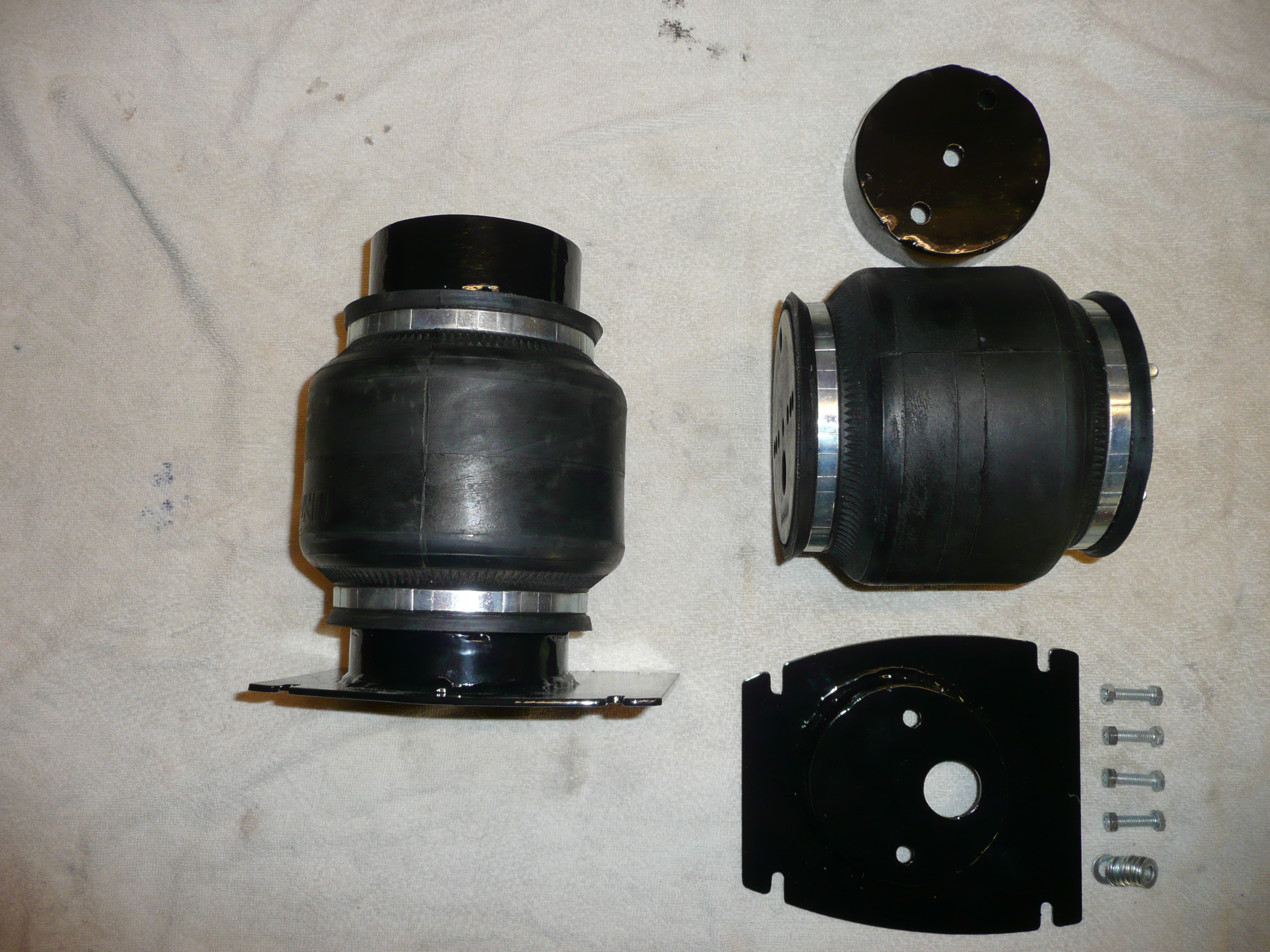 Mercedes W124 rear suspension kit