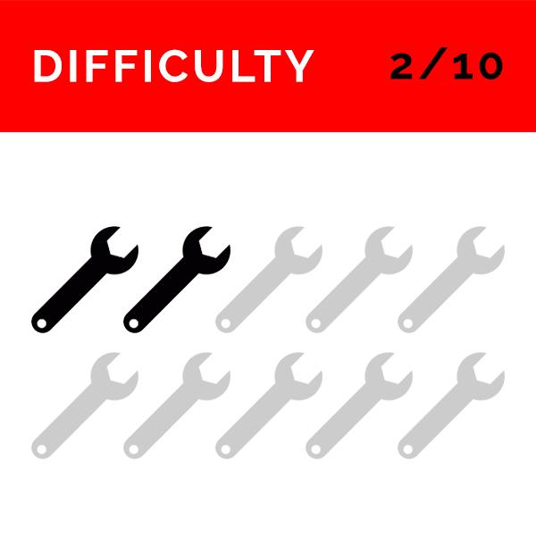 AirRide Installation Difficulty Level: 4 (DIY or local garage)