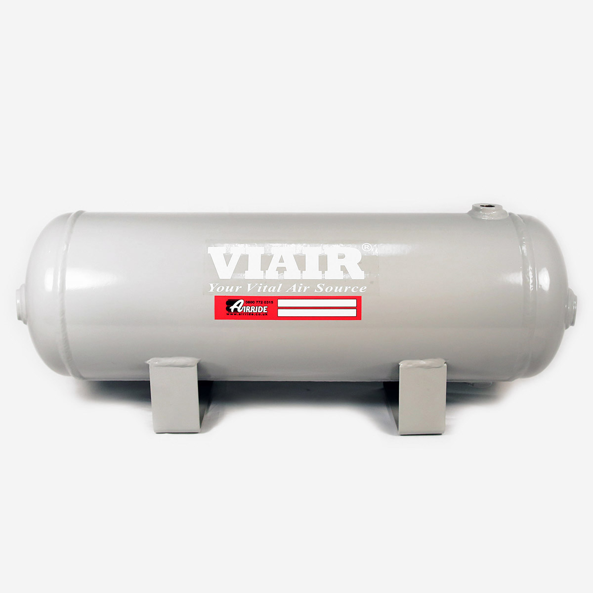 "Viair 91022 2.0 Gallon Air Tank Six 1//4/"" NPT Ports; 150 PSI Rated"