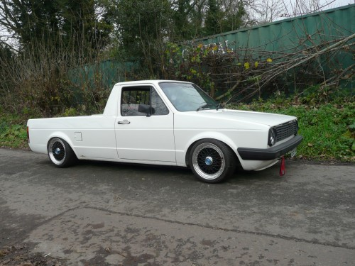 Volkswagen Caddy mk1 air suspension
