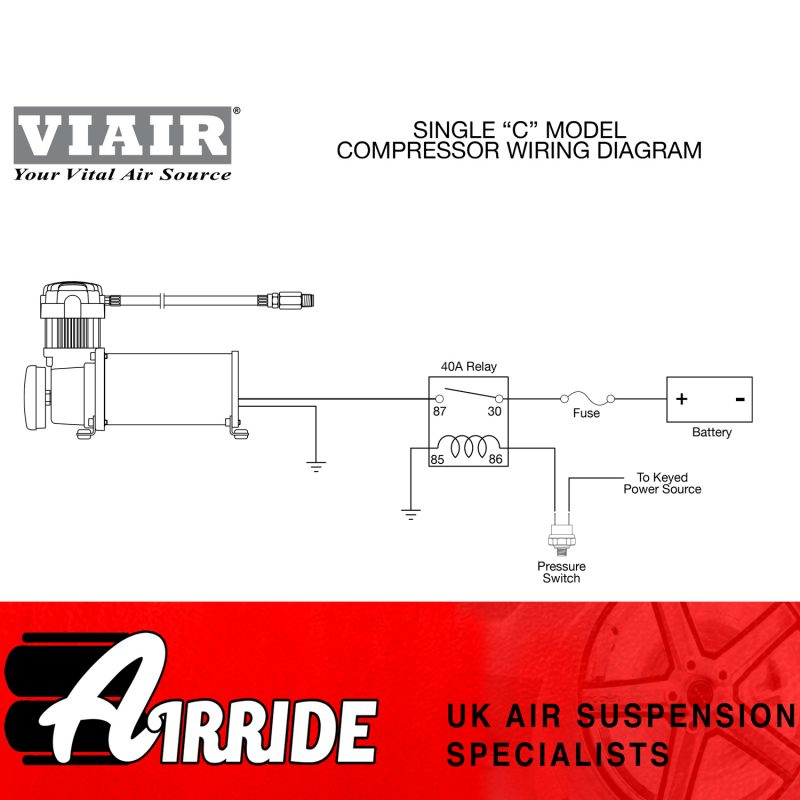 AirRide Viair Air Compressor Wiring Diagram