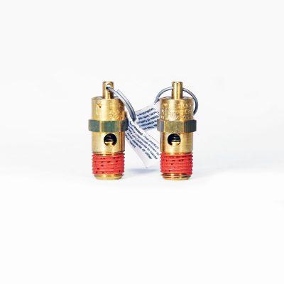 """205 PSI 1/4"""" NPT safety valve"""