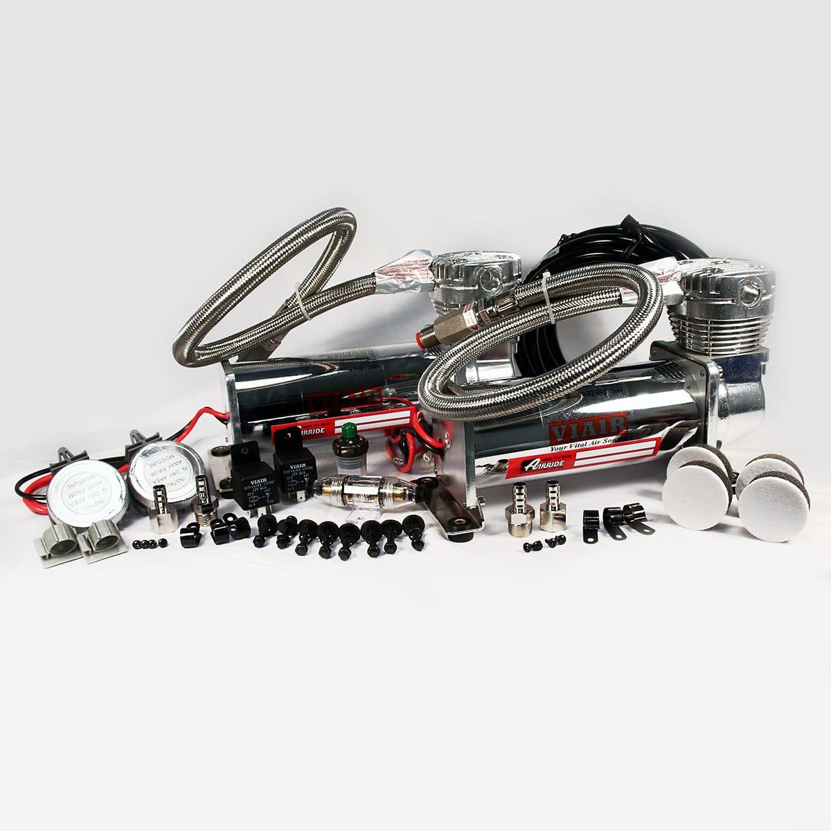 Airbag Suspension Wiring Diagram Viair 480c Single Pewter Compressor