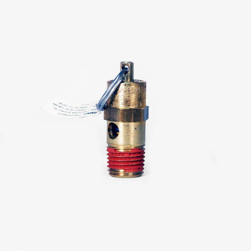 """145 PSI 1/4"""" NPT safety valve"""