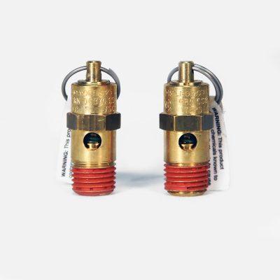 """175 PSI 1/4"""" NPT safety valve"""