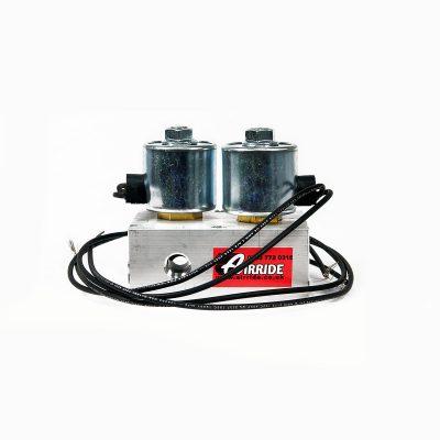 solenoid manifold no valves