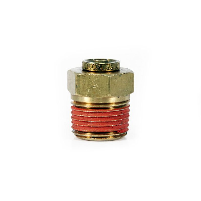 1/4 Push-in Hose Fitting with 1/8 NPT Female Thread