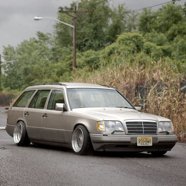 Bolt-on AirRide conversion for Mercedes W124 Saloon, Estate and coupe