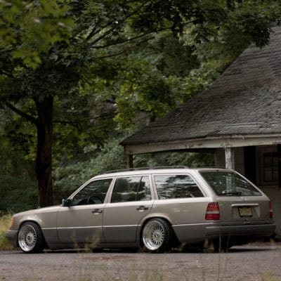 W124 estate suspension conversion kit