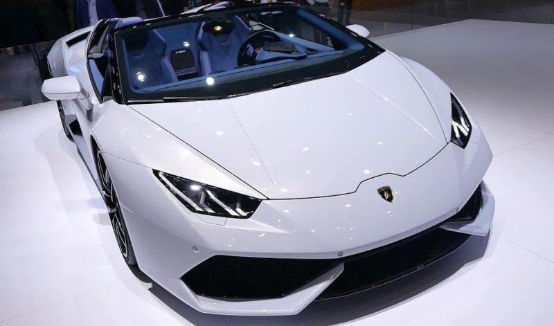 Lamborghini Aventador AirRide air suspension