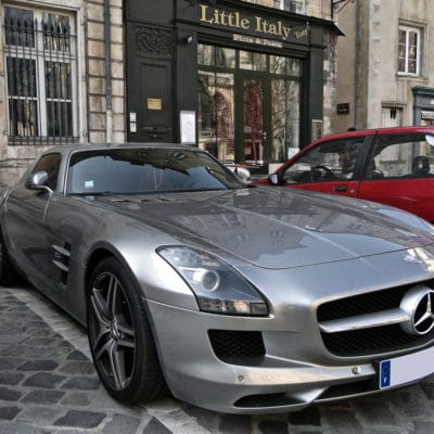 mercedes-benz sls amg air ride