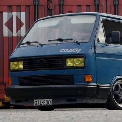 Volkswagen VW T3 T25 T2.5 AirRide lowering conversion