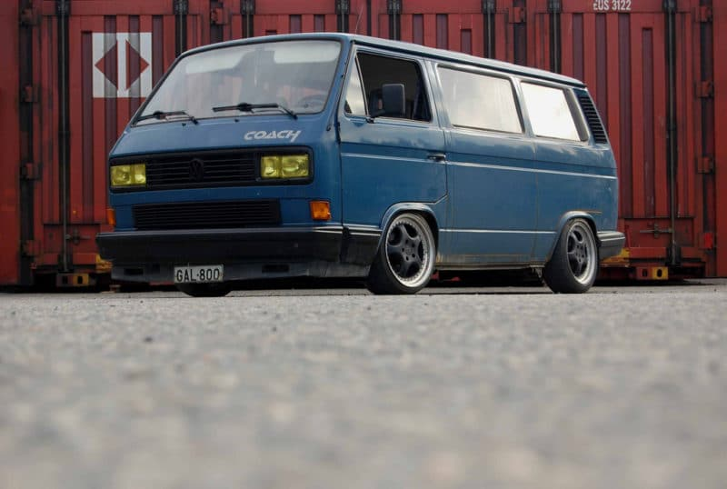 Volkswagen T25 T3 Transporter AirRide lowered