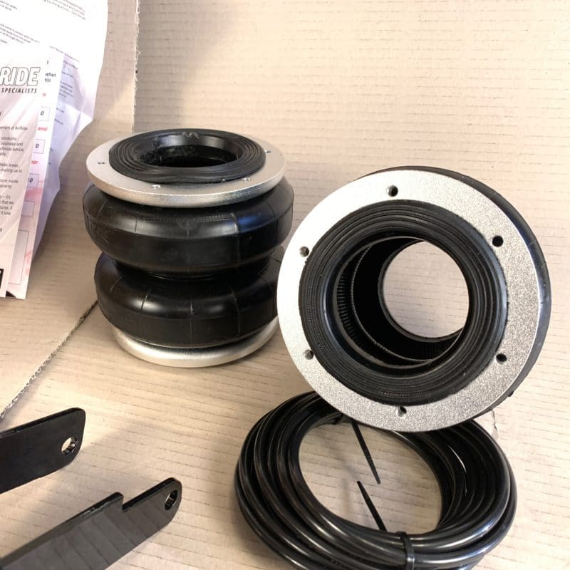 Boss Air Suspension Air conversion kit for coil spring navara