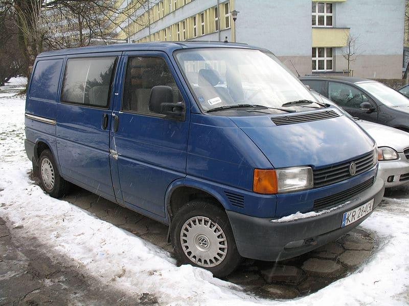 transporter t4 blue