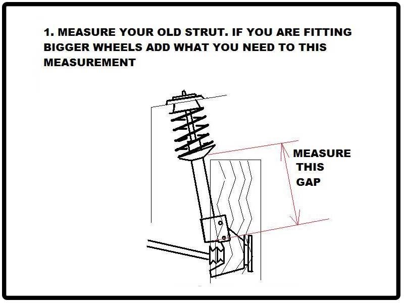 Boss Air Suspension Universal Strut Air-Strut-Measuring-1