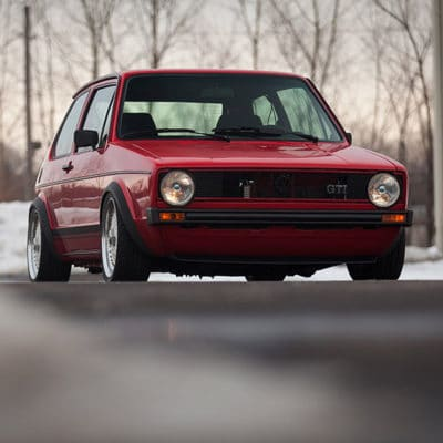 Golf Mk1 air ride