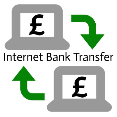 Internet Bank Transfer Graphic
