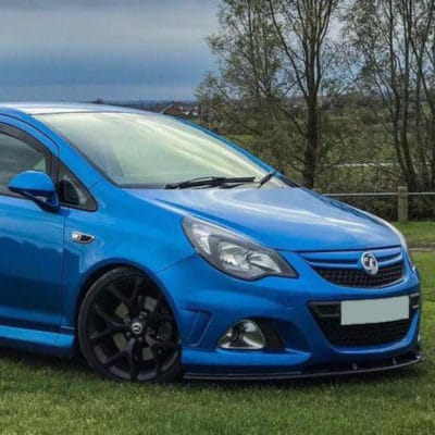 Corsa D on AirRide air suspension