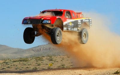 Some vehicles in the Baja 100 race in Mexico still use air suspension
