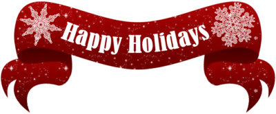 Red Title saying Happy Holidays from Airride