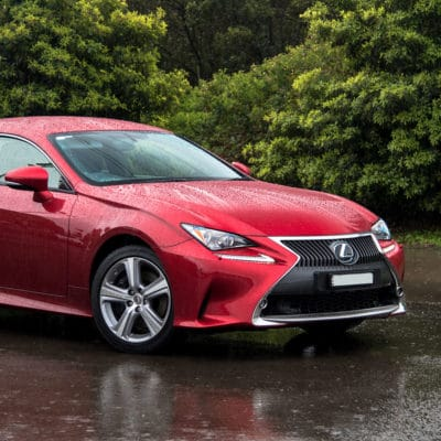 lexus rc 200t air ride